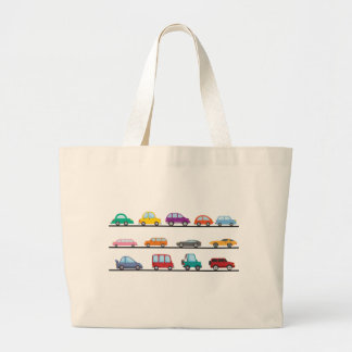cars large tote bag