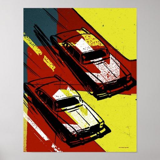 Cars Racing Poster