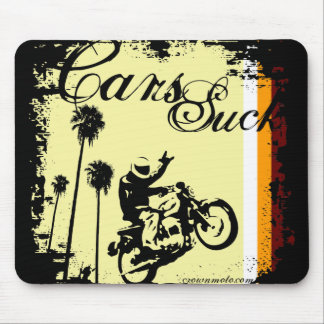 Cars Suck (70s) Mouse Pad