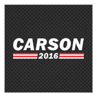 Carson 2016 (Ben Carson) Photographic Print