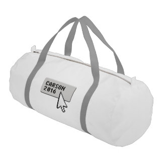 Carson 2016 Click and Choose for President Gym Duffel Bag