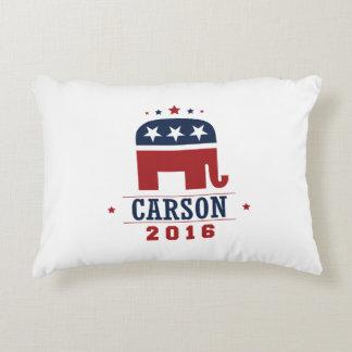 Carson 2016 GOP Elephant Design Decorative Cushion