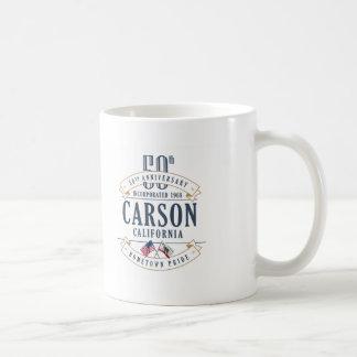 Carson, California 50th Anniversary Mug