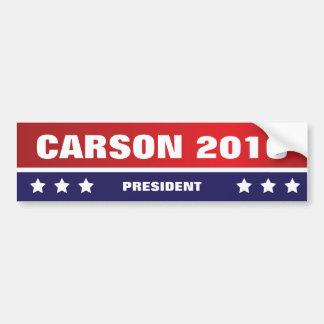 Carson for President 2016 Bumper Sticker