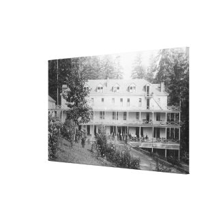 Carson, WA Shipherd's Springs Hotel View 2 Stretched Canvas Print