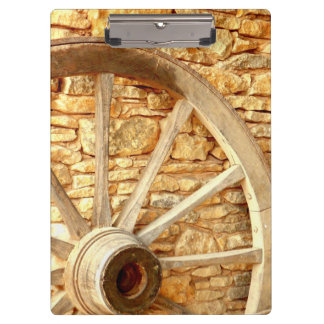 Cart Wheel Clipboard