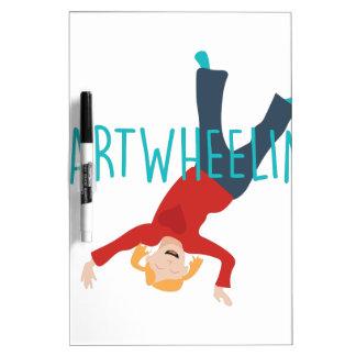 Cart Wheelin Dry Erase Board