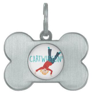 Cart Wheelin Pet ID Tag