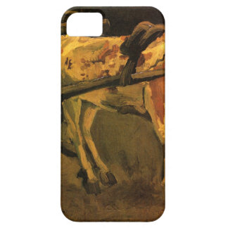 Cart with Red and White Ox by Vincent van Gogh Case For The iPhone 5
