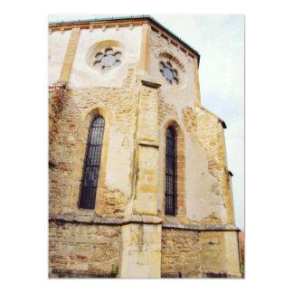 Carta cistercian church 17 cm x 22 cm invitation card