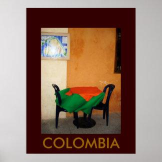 CARTAGENA, COLOMBIA POSTER