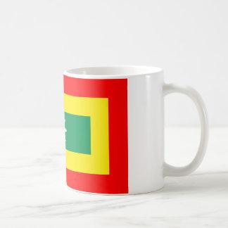 Cartagena region flag colombia coffee mug