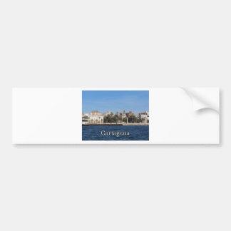 Cartagena souvenir and gift bumper sticker