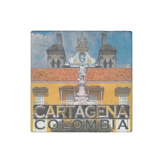 Cartagena Stone Magnet