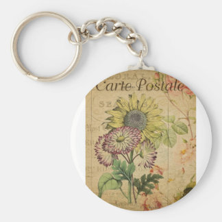 Carte Postale I Key Ring