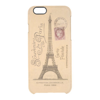 Carte Postale iPhone 6/6S Clear Case