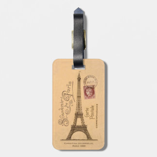 Carte Postale Luggage Tag