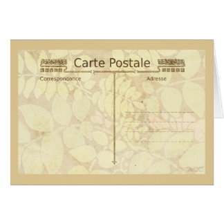 Carte Postale Postcard Mail Art