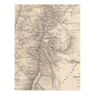 Carte, Province de Mendoza, the Araucan�a Postcard