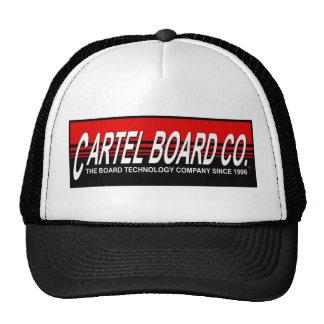 Cartel flow design trucker hat. cap