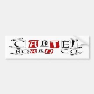 Cartel safety Sticker
