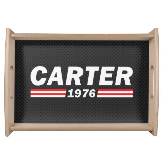 Carter 1976 (Jimmy Carter) Serving Tray