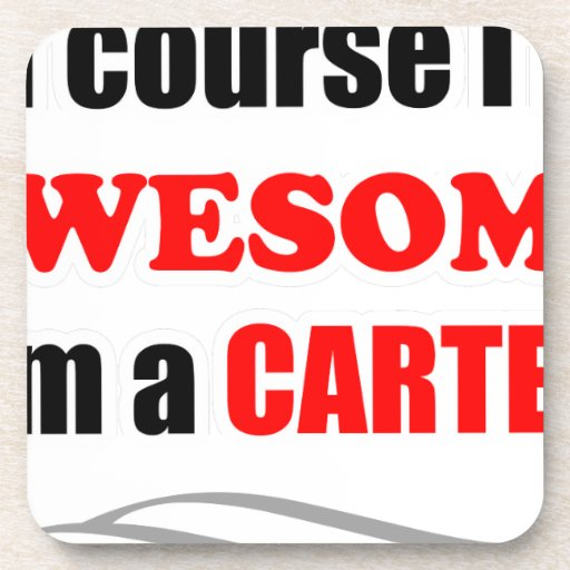 Carter Awesome Family Drink Coasters