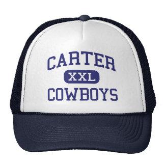 Carter - Cowboys - High School - Dallas Texas Mesh Hat