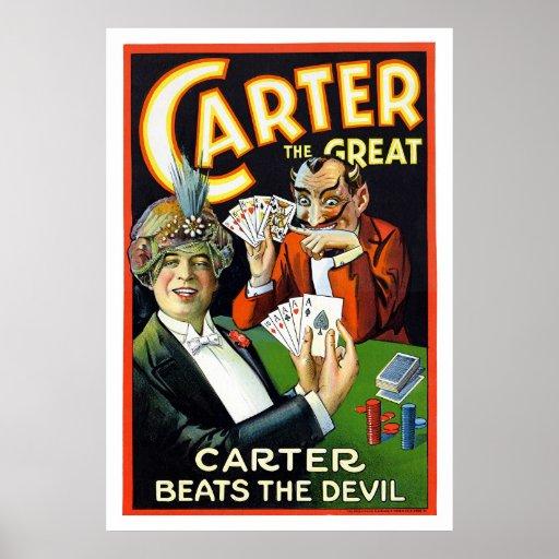 Carter Magic Poster