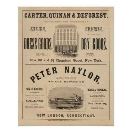 Carter, Quinan and Deforest Peter Naylor Print