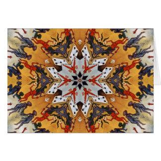 Carter the Great Kaleidoscope Card