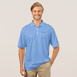 Carter Wear - Nike Dri-FIT Polo Shirt - Light Blue