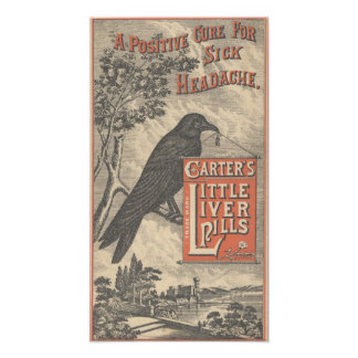 Carter's Little Liver Pills Ephemera Photo Print