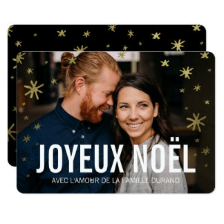 Cartes de noël photo | Joyeux Noel Card