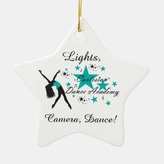 "Cartesion ""Lights, Camera, Dance!"" Ornament"