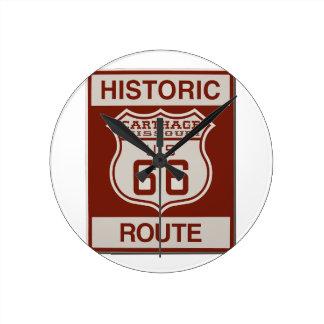 Carthage Route 66 Clocks