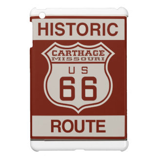 Carthage Route 66 iPad Mini Covers