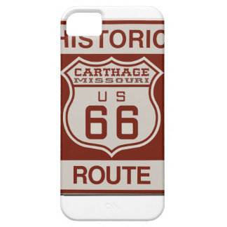 Carthage Route 66 iPhone 5 Cover
