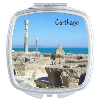 Carthage Ruins Compact Mirror