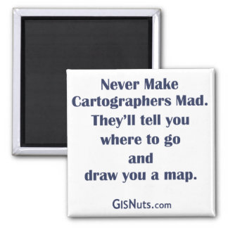 Cartographers Mad Magnet