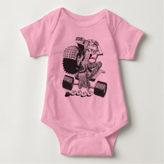 cartoon3, Amber Baby Bodysuit