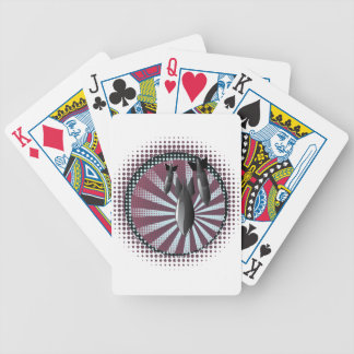 Cartoon Air Bomb 2 Bicycle Playing Cards