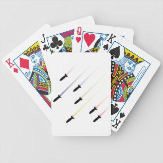Cartoon Air Bomb 3 Bicycle Playing Cards