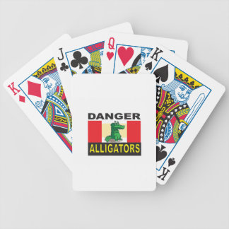 cartoon alligator help poker deck