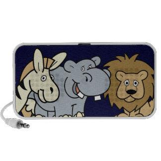 Cartoon Animal Friends Mini Speakers
