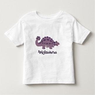 Cartoon Ankylosaurus Toddler T-Shirt