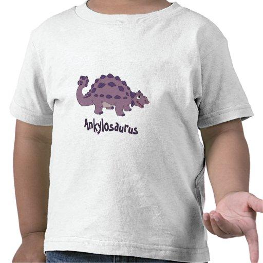 Cartoon Ankylosaurus Tshirt