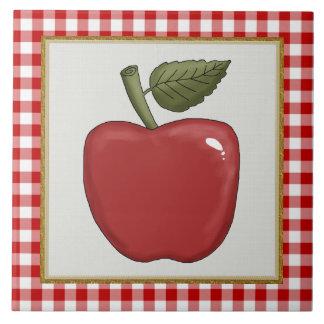Cartoon Apple Fruit kitchen or Restraunt tile