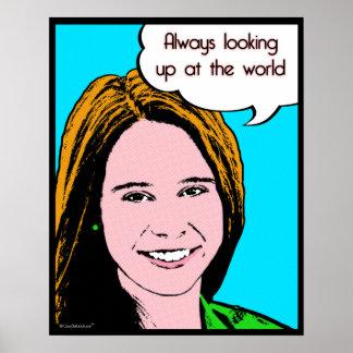 Cartoon Art Custom Request Poster
