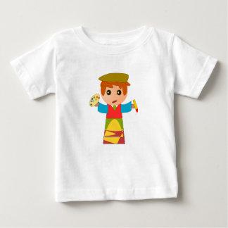 Cartoon Artists - Kids Baby Shirt